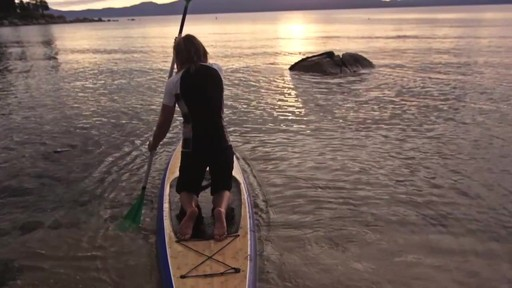 AQUABOUND Spark 2-Piece Adjustable Stand Up Paddle - image 4 from the video
