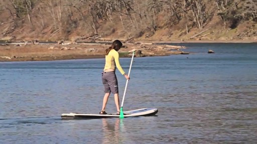 AQUABOUND Spark 2-Piece Adjustable Stand Up Paddle - image 5 from the video