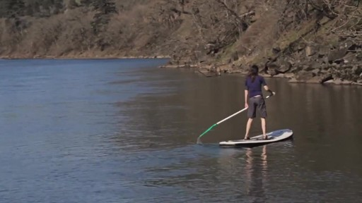 AQUABOUND Spark 2-Piece Adjustable Stand Up Paddle - image 6 from the video