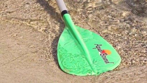 AQUABOUND Spark 2-Piece Adjustable Stand Up Paddle - image 7 from the video