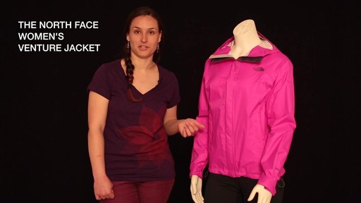 THE NORTH FACE Women's Venture Jacket - image 1 from the video