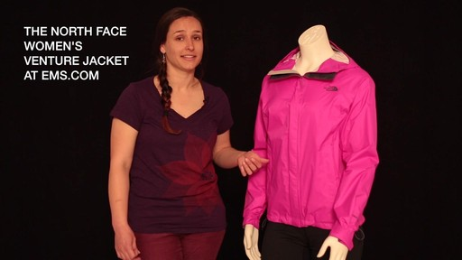 THE NORTH FACE Women's Venture Jacket - image 10 from the video
