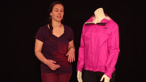 THE NORTH FACE Women's Venture Jacket - image 5 from the video