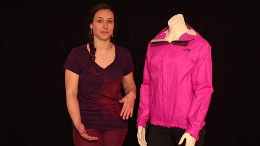 THE NORTH FACE Women's Venture Jacket - image 7 from the video