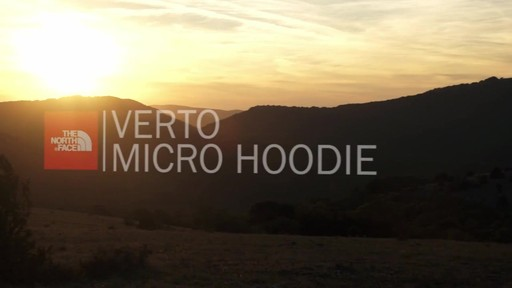 THE NORTH FACE Verto Micro Hoodie - image 1 from the video