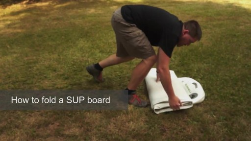 How to Fold a SUP Board - image 1 from the video