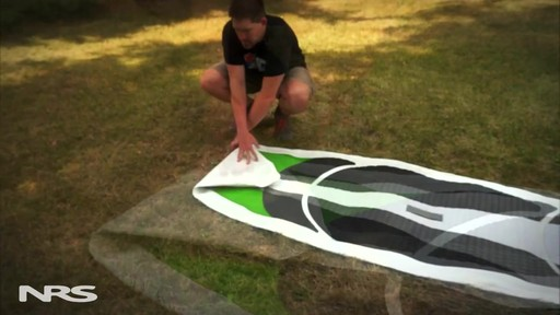 How to Fold a SUP Board - image 5 from the video