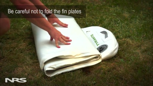 How to Fold a SUP Board - image 7 from the video