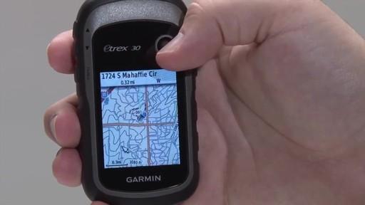 GARMIN eTrex 10|20|30 - Waypoints - image 7 from the video
