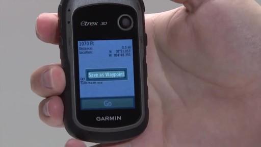 GARMIN eTrex 10|20|30 - Waypoints - image 8 from the video
