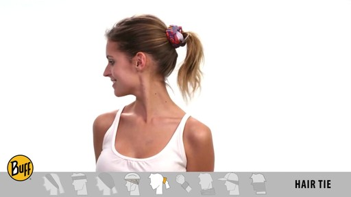 How to wear a UV Half or UV Headband Buff - image 9 from the video