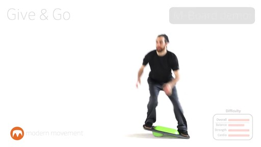 MODERN MOVEMENT M-Board 1.1 Balance Board - image 7 from the video