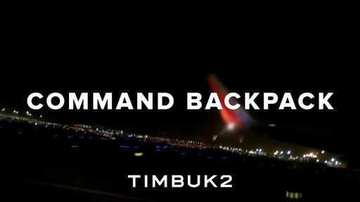 TIMBUK2 Command Backpack - image 10 from the video