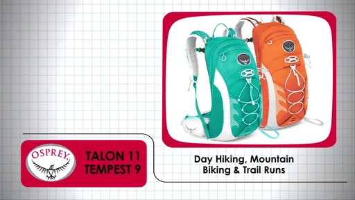 OSPREY Talon 11 & Tempest 9 Packs - image 1 from the video