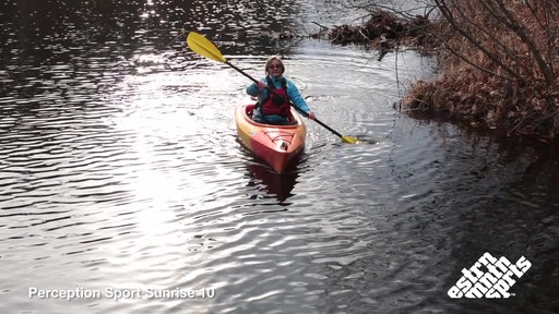 PERCEPTION SPORT Sunrise 100 Kayak - image 10 from the video