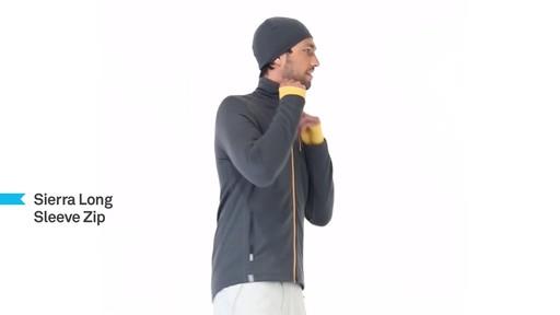 ICEBREAKER Men's Sierra Full-Zip - image 5 from the video