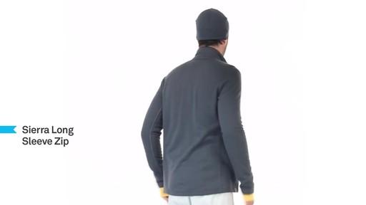 ICEBREAKER Men's Sierra Full-Zip - image 6 from the video