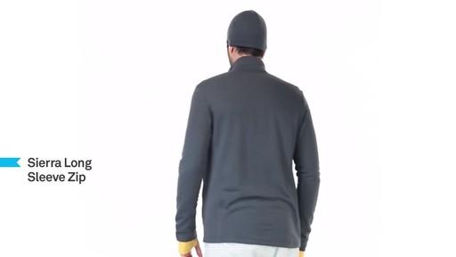 ICEBREAKER Men's Sierra Full-Zip - image 8 from the video