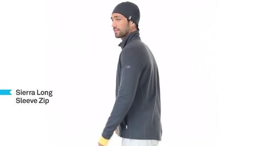 ICEBREAKER Men's Sierra Full-Zip - image 9 from the video