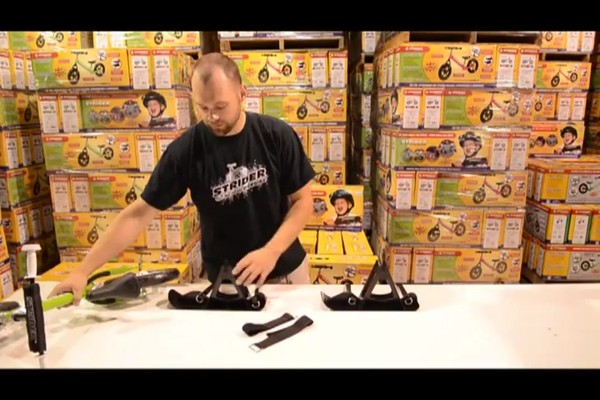 STRIDER Snow Strider Ski Accessory Kit (INSTALL) - image 2 from the video
