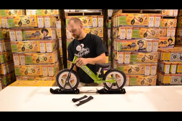 STRIDER Snow Strider Ski Accessory Kit (INSTALL) - image 3 from the video