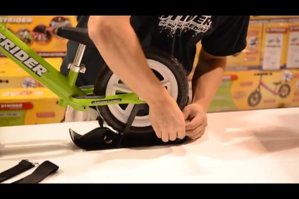 STRIDER Snow Strider Ski Accessory Kit (INSTALL) - image 4 from the video