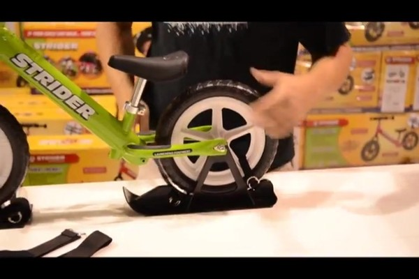 STRIDER Snow Strider Ski Accessory Kit (INSTALL) - image 5 from the video