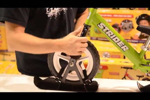 STRIDER Snow Strider Ski Accessory Kit (INSTALL) - image 8 from the video