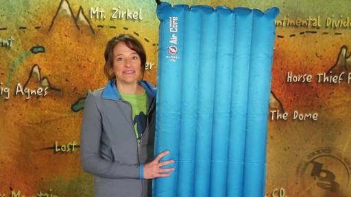 BIG AGNES Insulated Air Core Sleeping Pad - image 1 from the video