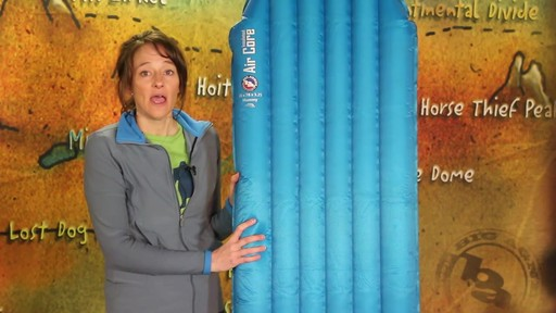 BIG AGNES Insulated Air Core Sleeping Pad - image 4 from the video