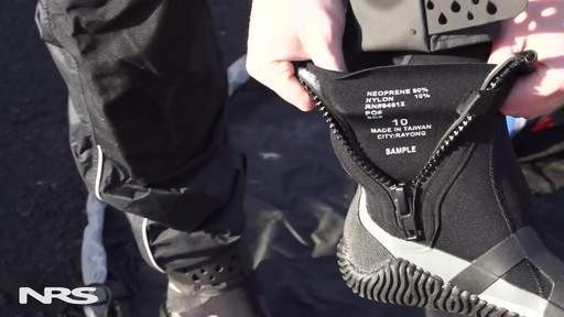 NRS Paddle Wetshoes - image 3 from the video