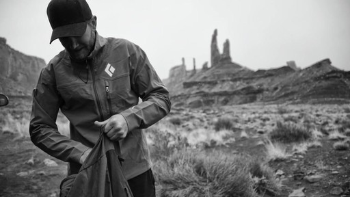 BLACK DIAMOND Men's BVD Hoodie & Jacket - image 1 from the video