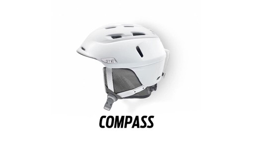 SMITH Compass Snow Helmet - image 1 from the video