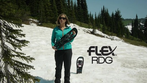 TUBBS Flex RDG Snowshoes - image 2 from the video