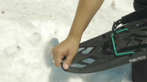 TUBBS Flex RDG Snowshoes - image 3 from the video