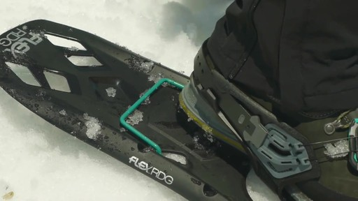 TUBBS Flex RDG Snowshoes - image 7 from the video