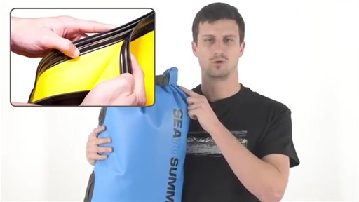 SEA TO SUMMIT Hydraulic Dry Bags and Packs - image 5 from the video