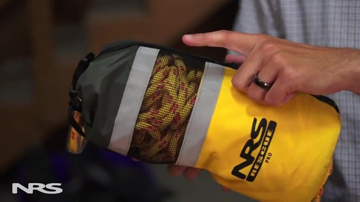 NRS Pro Rescue Throw Bag - image 2 from the video