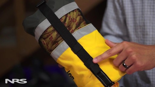 NRS Pro Rescue Throw Bag - image 3 from the video