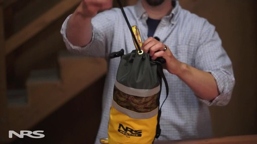 NRS Pro Rescue Throw Bag - image 6 from the video