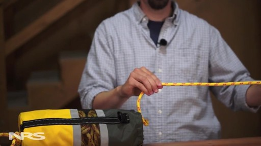 NRS Pro Rescue Throw Bag - image 7 from the video