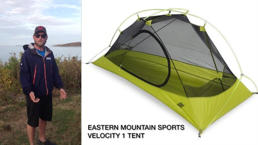 EMS Velocity 1 Tent Review - image 2 from the video