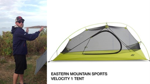 EMS Velocity 1 Tent Review - image 3 from the video