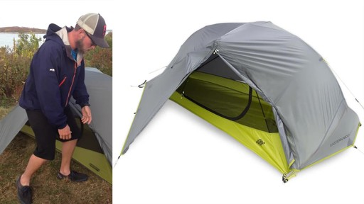 EMS Velocity 1 Tent Review - image 4 from the video