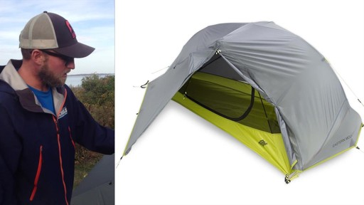 EMS Velocity 1 Tent Review - image 7 from the video