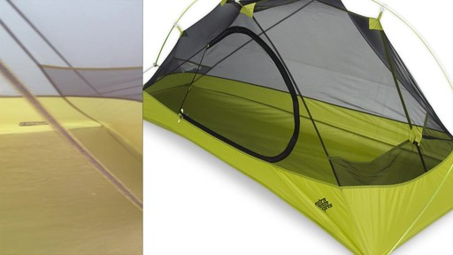 EMS Velocity 1 Tent Review - image 9 from the video