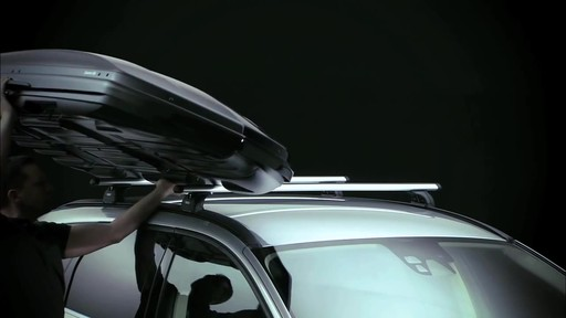 THULE Dynamic 900 Chrome Limited Edition Cargo Box - image 1 from the video