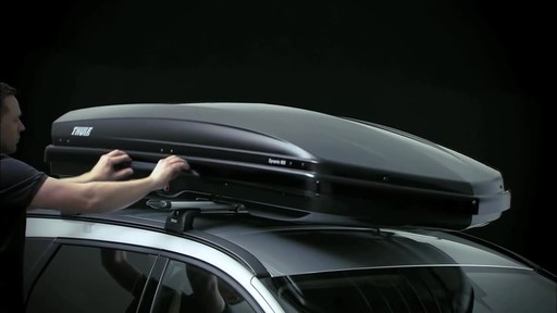 THULE Dynamic 900 Chrome Limited Edition Cargo Box - image 10 from the video