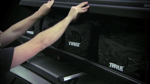 THULE Dynamic 900 Chrome Limited Edition Cargo Box - image 6 from the video