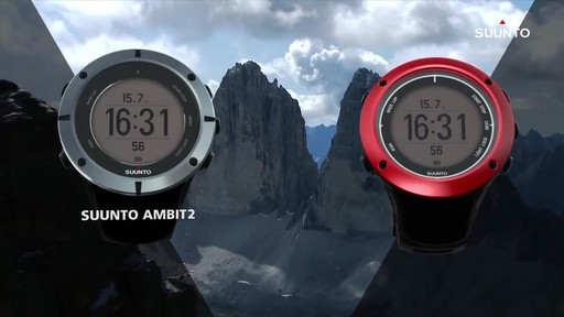 SUUNTO Ambit2 - image 1 from the video
